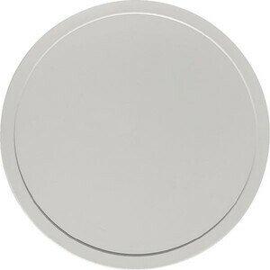 Deckel grau htp flach Ø203 Kunststoff-Deckel Bauscher
