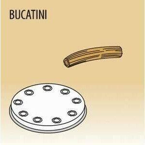Matrize Bucatini für Nudelmaschine 516002 und 516003 Cookmax black