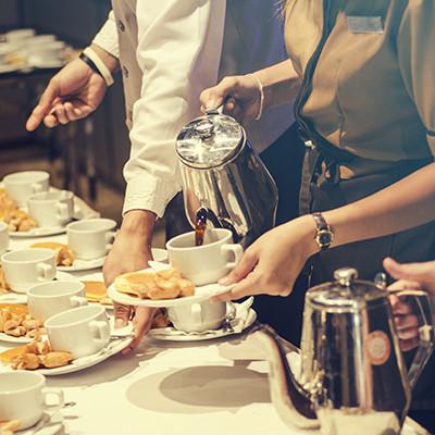 Kaffeezubehör für den Gastraum