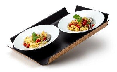 Platten und Seviertabletts