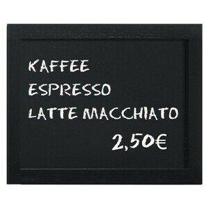 Wandtafel, schwarz 40 x 30 cm Contacto