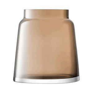 Vase 17,5 cm mokka Chimney LSA International