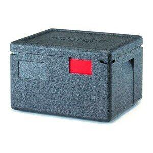 Wärmebox Top-Lader für GN 1/2-150 mm schwarz Cookmax silver