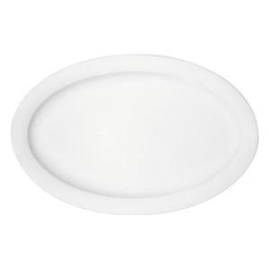 Platte oval 32cm Fahne 9061/32 Dimension weiss Bauscher