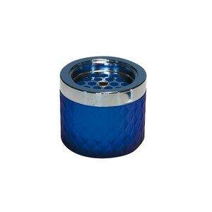 Windascher Glas Ø 9,5 cm matt-blau Assheuer & Pott