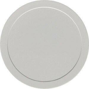 Deckel grau flach Ø93 Kunststoff-Deckel Bauscher
