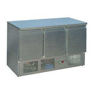 Kühltisch VIVA S 903 s/s TOP 3 Türen 1365 x 700 x 850 mm Saro