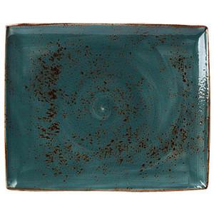 Platte rechteckig 33 x 27cm 1130 Craft Blue Steelite