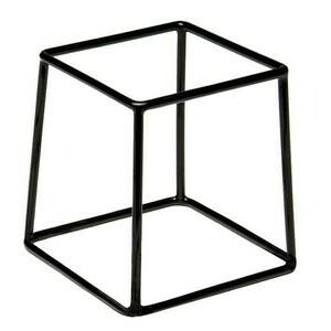 Buffet-Ständer schwarz Multi 18 x 18 cm, H: 18 cm Assheuer & Pott