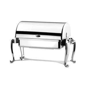 Chafing Dish GN 1/1 m. Rollhaupe 18/10 Hepp