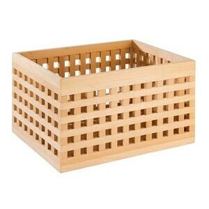 34 x 26 cm Kiste Höhe 20 cm Buche Assheuer & Pott