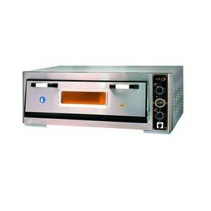 Pizzaofen 1 Backk., 6 Pizzen Ø 30 cm 119,0 x 88,0 x 44,0 400 V / 6,0 kW Cookmax orange
