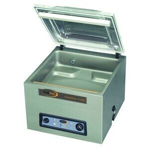 Vakuum-Verpackungsmaschine 42XXL 480 x 610 x 470 230V / 1,0 kW Cookmax black