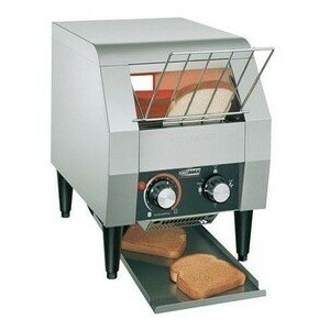 Durchlauftoaster, für 180 Scheiben/h 28,9 x 41,6 x 38,7 cm 230V / 1,3kW Cookmax black