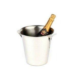 Wein/Sektkühler H. 21 cm Edelstahl stabile Ausführung Assheuer & Pott