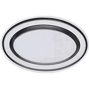 Bratenplatte oval 42 x 28,5 cm Höhe 3cm Contacto