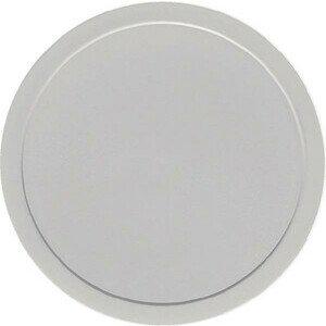 Deckel grau flach Ø126 Kunststoff-Deckel Bauscher