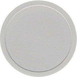 Deckel grau flach Ø109 Kunststoff-Deckel Bauscher