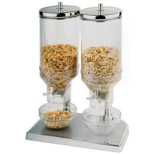 Cerealienspender 2x4,5l verchromt Fresh & Easy Assheuer & Pott