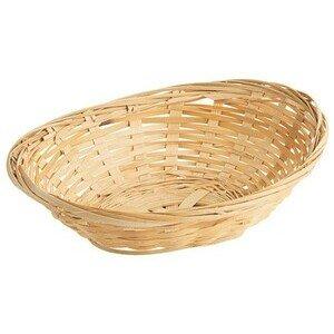 Bambuskorb 20x15,5x7cm oval Contacto