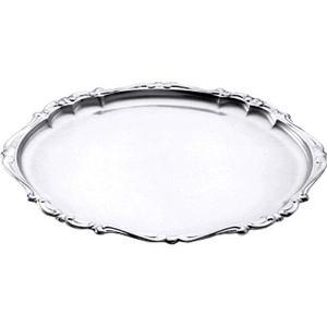 Barock-Tablett oval 37x29cm Contacto