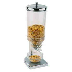 Cerealienspender 4,5 ltr. Fresh+Easy 22 x 17,5 cm H. 52cm Edelstahl Assheuer & Pott