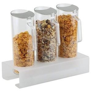 Cerealien-Bar 7-tlg. ca. 38 x 15,5 cm, Höhe 8 cm Assheuer & Pott