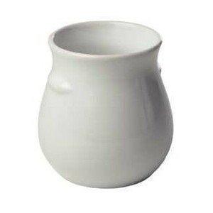 Dressingtopf 0,5 L ohne Aufschrift Keramik weiss ohne Deckel
