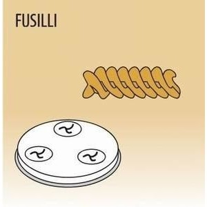 Matrize Fusili für Nudelmaschine 516001 Cookmax black