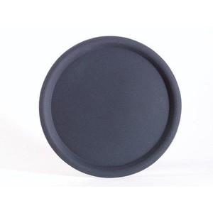 Serviertablett rund 38 cm schwarz Assheuer & Pott