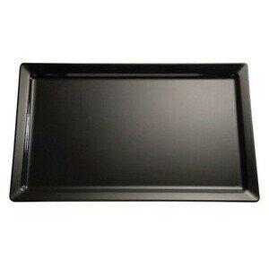 GN 2/4 Tablett Pure schwarz 53 x 16,2 cm, H: 3 cm Assheuer & Pott