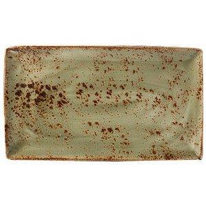 Platte rechteckig 33x19cm 1131 Craft Green Steelite