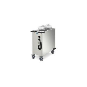 Tellerstapler beheizt Teller Ø 270 - 330 B 1051 x T 529 x H 900 mm Cookmax silver