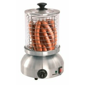 Elektrisches Hot-Dog-Gerät 0,8 kW / 230 V Ø 290 mm, Höhe 420 mm Bartscher