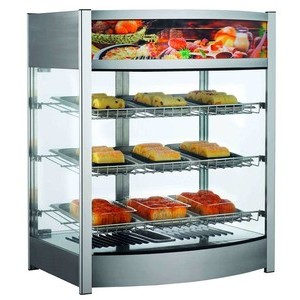 Warmhaltevitrine, Umluft, 137 l 64,5 x 48,7 x 78,5 230 V / 1,00 kW Cookmax orange