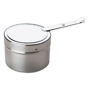 Brennpastenbehälter Durchm. 9 cm H. 6 cm Edelstahl Assheuer & Pott