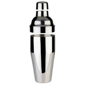 Shaker Edelstahl hochglanz 9 cm, H: 23 cm, 0,7 Liter Assheuer & Pott