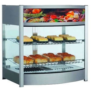 Warmhaltevitrine, Umluft, 107 l 64,5 x 48,7 x 65,7 230 V / 1,00 kW Cookmax orange