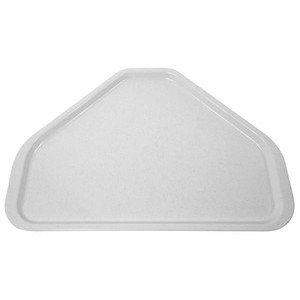 Tablett Glasfaser, lichtgrau Contacto