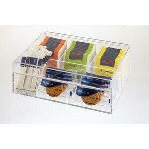 Teebox / Multibox Acryl 22 x 17 cm, H: 9 cm Assheuer & Pott