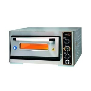 Pizzaofen 1 Backk., 4 Pizzen Ø 34 cm 97,0 x 96,0 x 43,0 400 V / 5,0 kW Cookmax orange