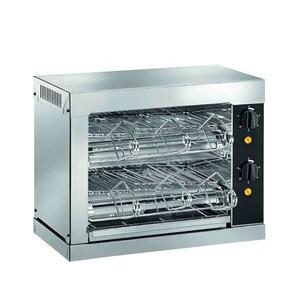 Toaster mit Timer, 2 Heizebenen 440 x 240 x 380 230 V / 3,0 kW Cookmax orange
