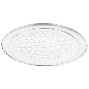 Pizzablech 24 cm, rund gelocht Contacto