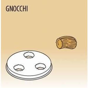 Matrize Gnocchi für Nudelmaschine 516002 und 516003 Cookmax black