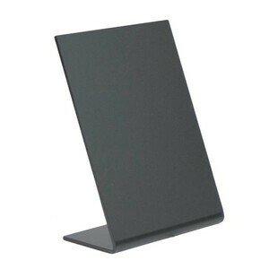 Aufsteller A7 schwarz Acryl 5er Pack