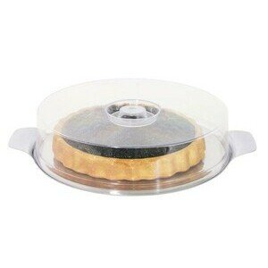 Runde Platte mit Haube 30 cm Contacto