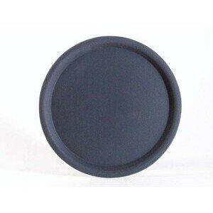 Serviertablett rund 43 cm schwarz Assheuer & Pott