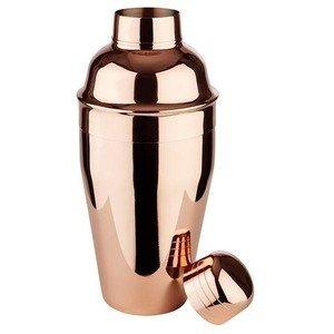 Shaker 0,5ltr. Ø8,5cm H.20cm Edelstahl Kupfer-Look Assheuer & Pott