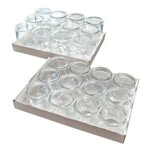 Gourmet-Gläser 12er Set 6 cm, H: 8,5 cm, 0,2 Liter Assheuer & Pott