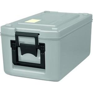 Transportbehälter 26 l lichtgrau 630 x 370 x 308 mm Cookmax silver
